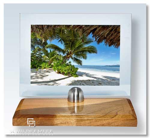 designer bilderrahmen 200 x 150 mm ihr motiv auf glas gedruckt edelholz fu ebay. Black Bedroom Furniture Sets. Home Design Ideas